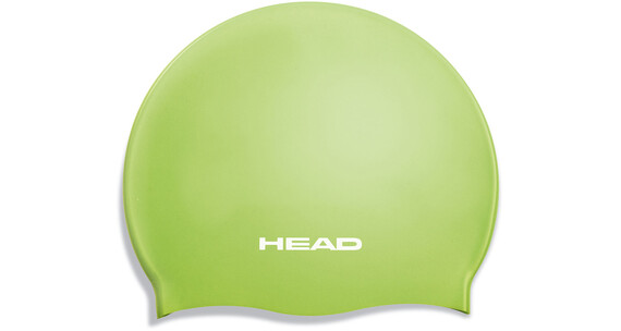 Head Silicone Flat Jr Cap Lime